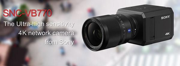 دوربین مداربسته سونی SNC-VB770