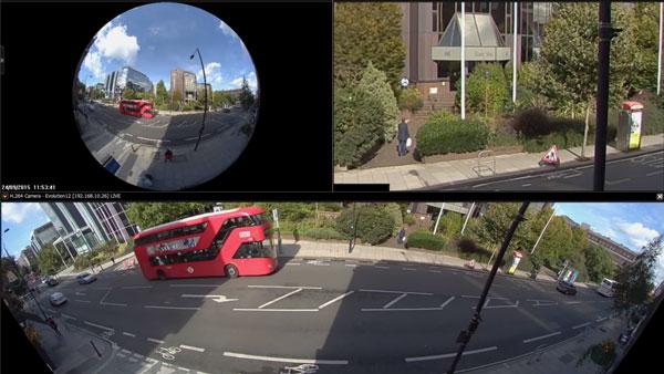 دوربین مداربسته پانورامیک 12 مگاپیکسلی Oncam