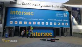 گزارش تصویری از آماده سازی نمایشگاه دوربین مدار بسته Intersec 2017 دبی