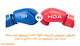 تفاوت دوربین مداربسته آنالوگ HD با دوربین مداربسته تحت شبکه (قسمت دوم : پیشرفتهای سال 2016- کدگذاری و انتقال )